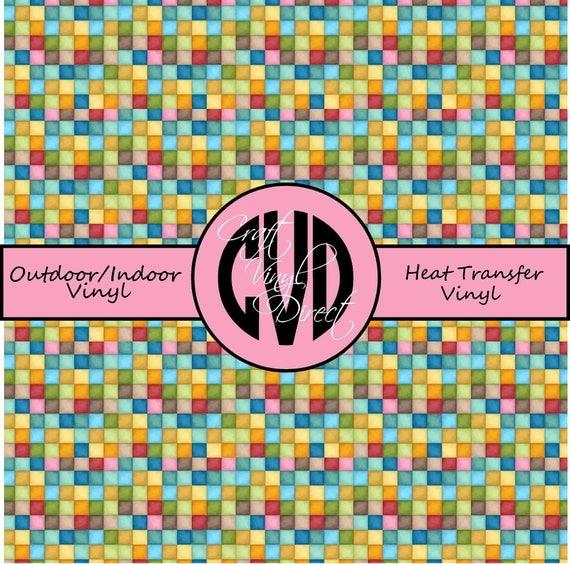 Beautiful Patterned Vinyl // Patterned / Printed Vinyl // Outdoor and Heat Transfer Vinyl // Pattern 214