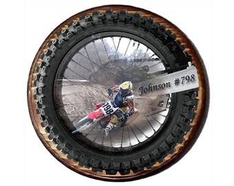Motocross Decor, Dirt Bike Decor, Motorcycle Gift, Motocross Wall Decor, Wall Art, Wood Plaque, Gift for Men