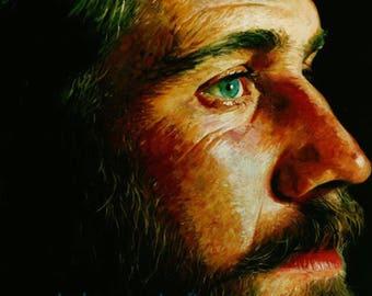 Fine Art, High End, Custom Acrylic Painting, Customized Portrait, Acrylic Painting, Personalized Portrait, Personalized Painting, Best Gift