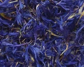 Cornflower petals, organically grown