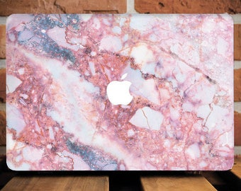 Pink Marble Macbook Hard Case Macbook Pro 13  Case Macbook 12 Case Macbook Cover Macbook Air 11 Case MacBook Case Macbook Air 13 Case WCm202