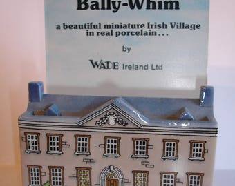 Wade Whimsey BALLY WHIM miniature ceramic house