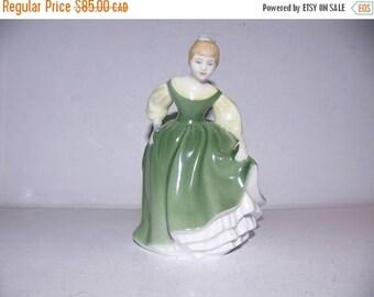 ON SALE Vintage Royal Doulton 'Fair Maiden' Figurine