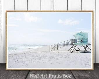 Beach Print, Beach Decor, Ocean Print, Ocean Waves Print, Ocean Wall Art, Printable Art,  Sea Decor, Ocean Photography