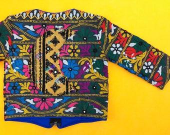 12-24 mos, 1 Year Banjara Toddler Moon Jacket, Kids Hippie Jacket, Moon Jacket, Moon Baby, Bohemian Kids Jacket, Lightweight Coat, Coat