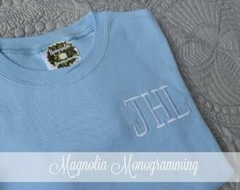 Boys Ice Blue Short Sleeve Shirt