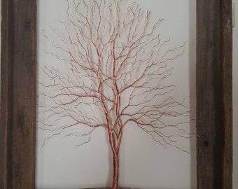 Copper Wire Tree Etsy