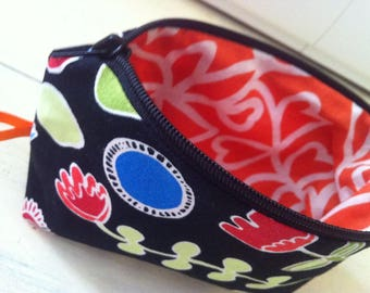 Toilet bag, makeup pouch * on order - fabric choices *.