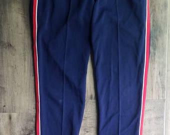 Adidas Track Bottom Pants Size L W Germany