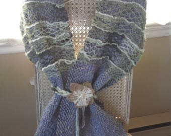 Handwoven Boho Chic Shawl