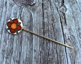 Adorable dePassille-Sylvestre Flower Stick Pin