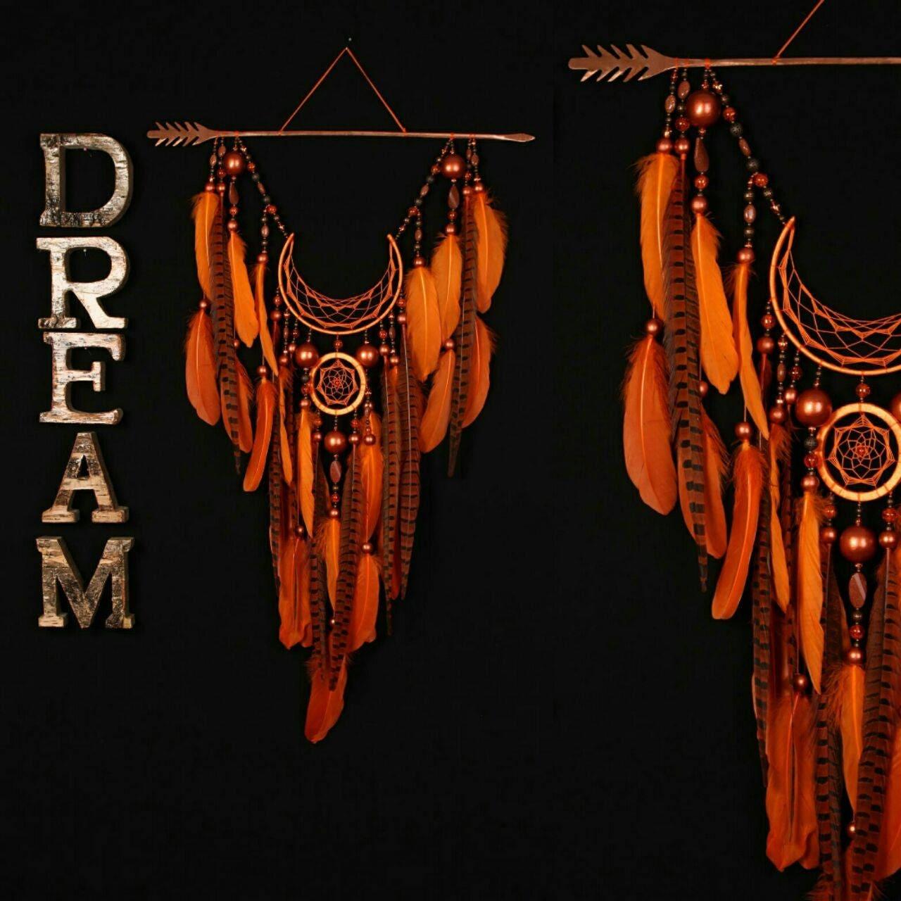 Dream Catcher In The Sun Arrow Dreamcatcher Moon Dreamcatcher Orange dreamcatcher sun 30