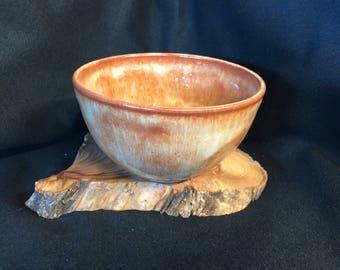 Ceramic hand made bowl