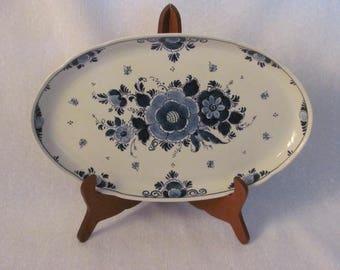 Royal Goedewaagen Delfts Blauw Platter