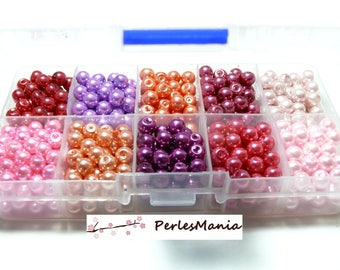 Essentials: Box of 2000 PX5411 4mm Pearl glass beads