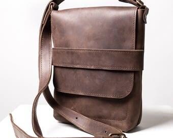 Mens leather bag | Etsy