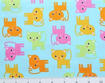 KITTENS ~ Urban Zoologie by Ann Kelle for Robert Kaufman ~ AAK15724192 ~ By The Half Yard ~