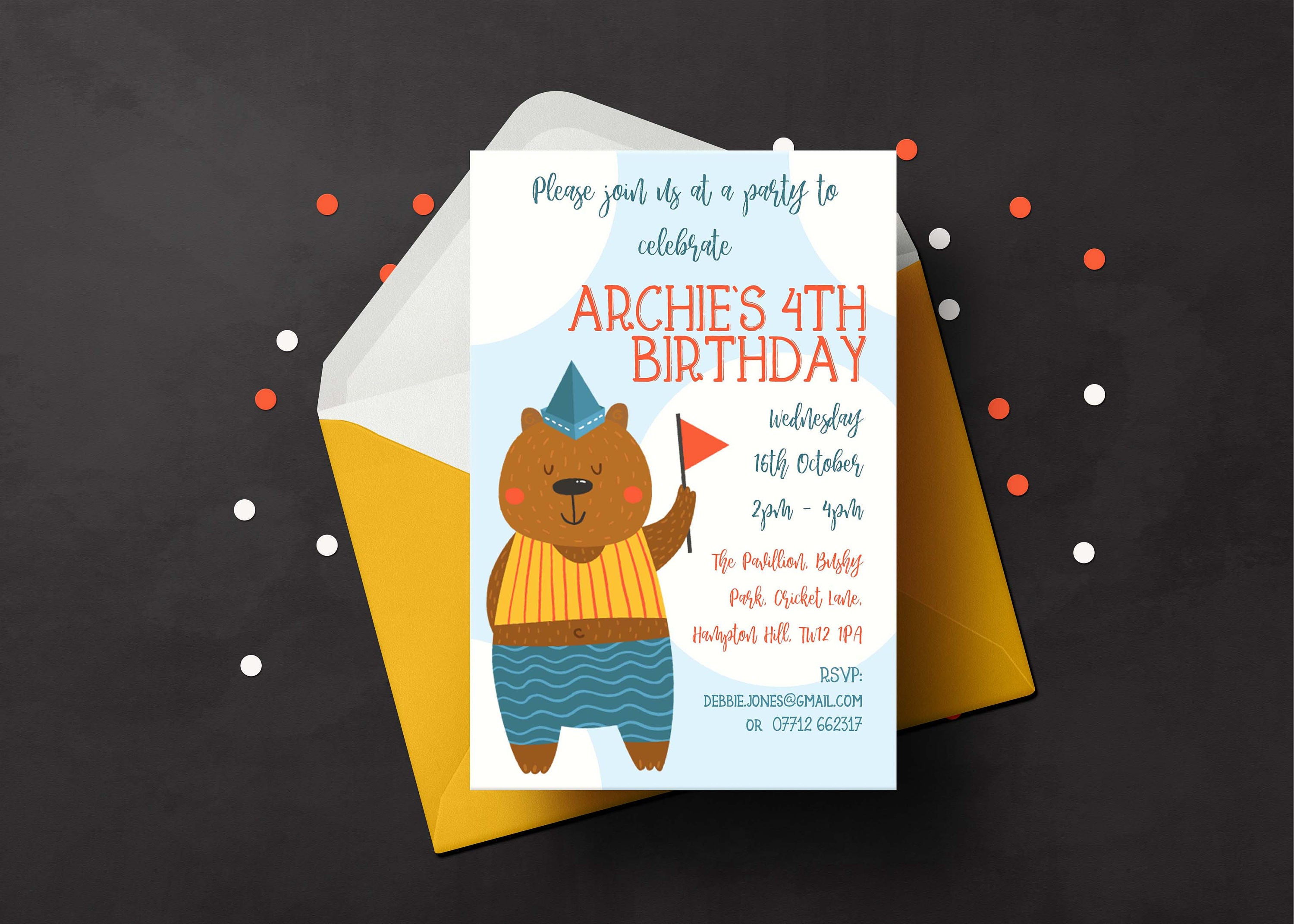 Birthday party invitation childs party invite custom party birthday party invitation childs party invite custom party invite kids birthday invitation filmwisefo Gallery