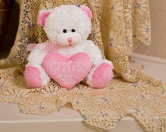 Plush Girl Cutie Pie Bear