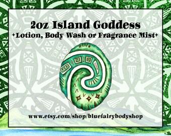 ISLAND GODDESS 2 Oz Lotion, Body Wash or Fragrance Mist