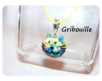Unique Designer [Gribouille] - multicolor necklace