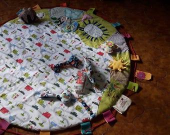 Carpet(mat,carpets,mats) of awakening and toy bag textile