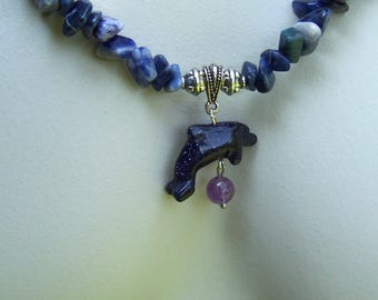 """Playful Dolphin Necklace 24.5"""""""