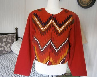 Vintage Guatemalan Tribal Jacket