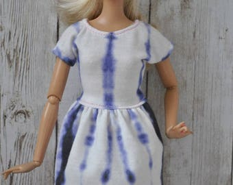 Beautiful handmade dress for Barbie Fashionistas,Model Muse,Fashion Royalty dolls