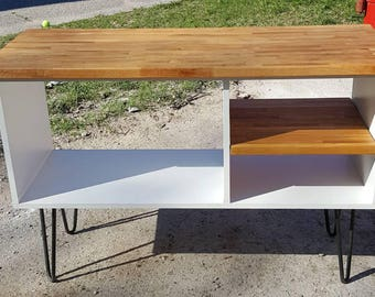 Record Player Console Table