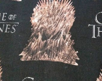 Iron Throne Game Of Thrones Cotton Fabric