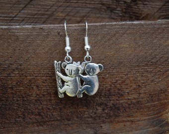 Earrings original koala