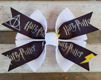 Harry Potter Hair Bow (4 inch)