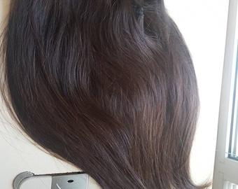 Slavic human hair, 20'', Remy hair, Natural color,Clip in extensions, REmy human hair extensions