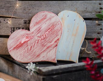 Weathered pallet heart