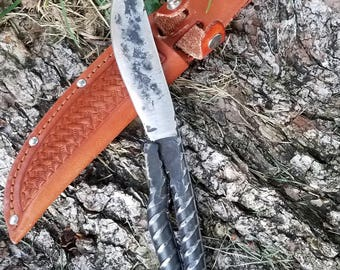 Forged rebar knife