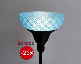 Sale! Lamp shade lamp or Wall Sconce black and blue for model IKEA