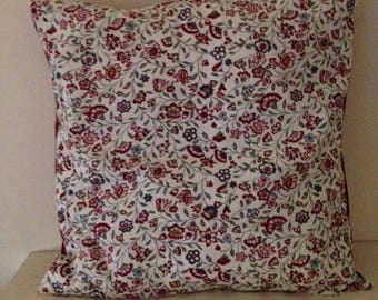 liberty way on white pillow cover