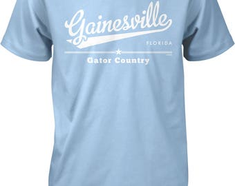Gainesville, Florida, Gator Country Men's T-shirt, NOFO_01171