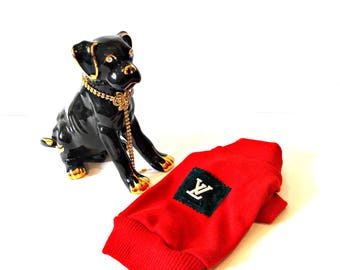 Dog Clothing - Dog clothes Dog sweater Small dog outfit Knit dog sweater