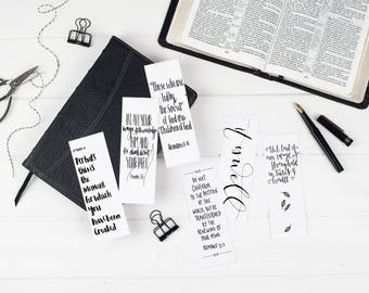 Children of God Christian Bookmarks - Christian Gifts  - Bible Verse Bookmarks (pack of six) - Eco Friendly