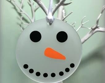 Children's Christmas Decoration, Snowman Ornament, Christmas Ornament, Tree Decoration, Stocking Filler, Stocking Stuffer, Christmas Eve Box