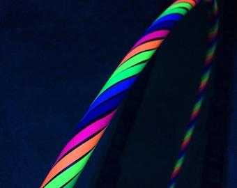 UV Rainbow Glow Hoop