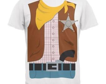 Halloween Cowboy Costume Youth T-Shirt