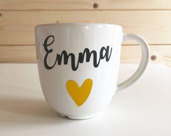 Personalised mug, tea gift, tea lover, bespoke mug, personalised cup, gifts for tea lovers, personalised gifts, coffee lover, coffee gifts