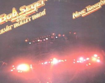 Bob Seger vinyl record album, Nine Tonight vintage record album