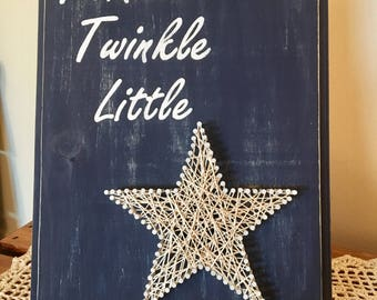Twinkle Twinkle Little Star String Art