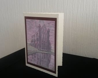 Whitby Abbey :  Greetings Card A5