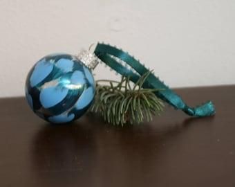 Small Blue Ornament