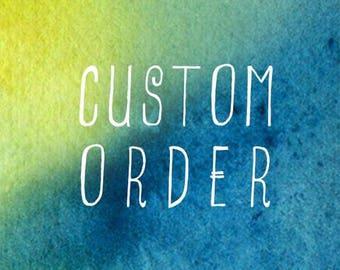 Custom Bedding Listing